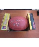DON SHULA HOF 97 MIAMI DOLPHINS SIGNED AUTO DUKE NFL FOOTBALL SHULA COA - $247.49