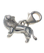 Sterling 925 British Silver Clip On Charm Lion King with Mane by Welded ... - $18.64