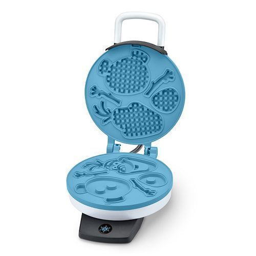 Disney Frozen Olaf Waffle Maker - Do You Want to Build a Snowman White Snowflake