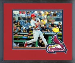 Carson Kelly 2016 St. Louis Cardinals -11x14 Team Logo Matted/Framed Photo - $43.55