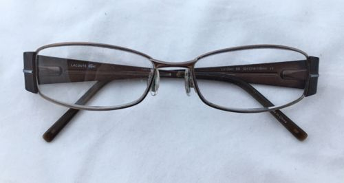 cf1f599e76 LACOSTE Brown Copper Metal Rectangle Frames and 49 similar items. 12