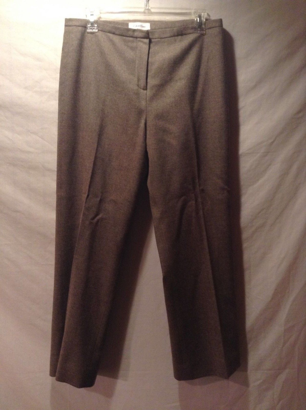Women's Calvin Klein Gray Dress Pants Size 10