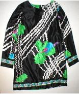 New Womens M 10 12 NWT Designer Silk Italy Shift Dress Alice San Diego 4... - $513.50