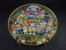 """Purrfect Pops"" Franklin Mint Collector's Plate... - $24.45"