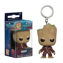Funko Pocket Pop Keychain Guardians of the Galaxy Groot Bobble-Head PVC ... - $6.48