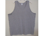 Mens gildan gray tank top front 2xl thumb155 crop