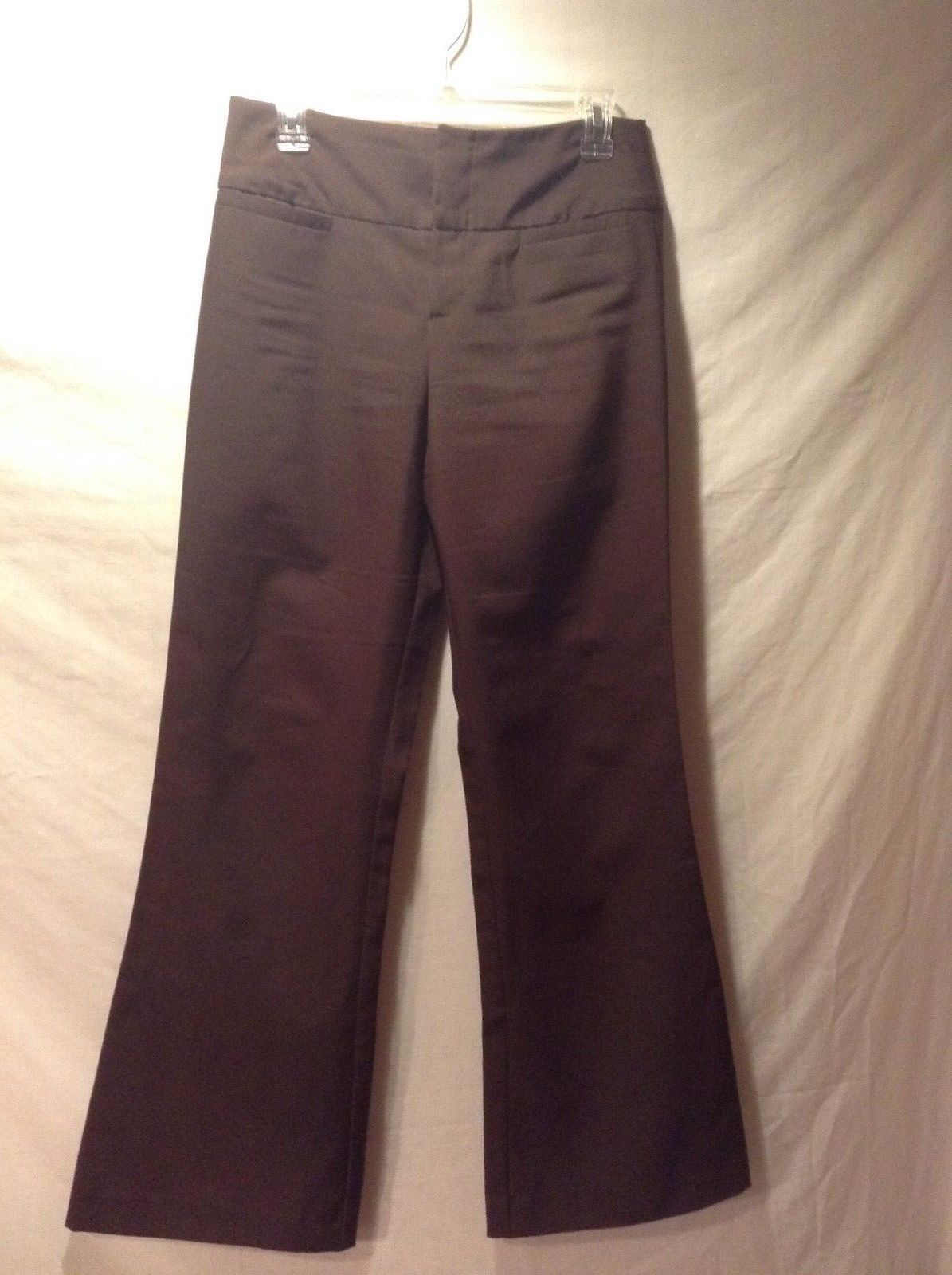 Super Cute Ladies Brown Flared Dress Pants