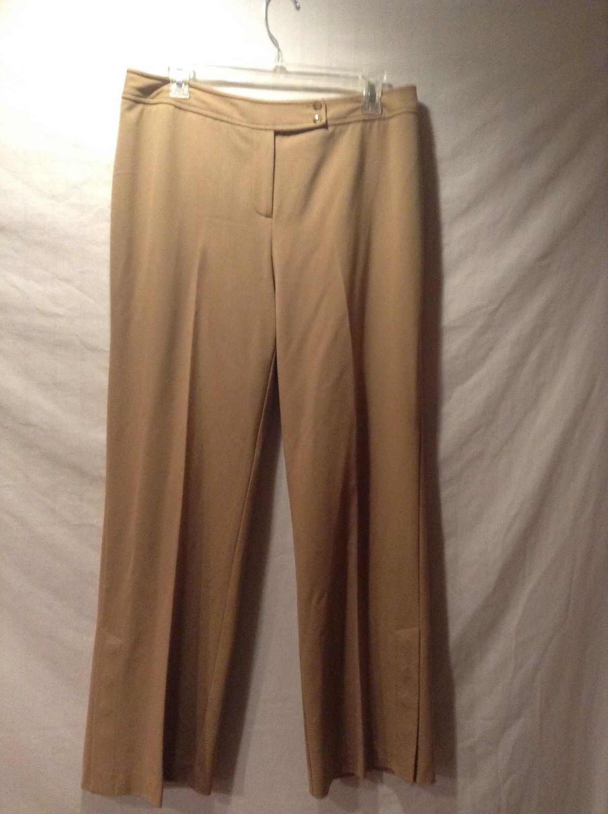 Bandolino Ladies Petite Biege Stretchy Dress Pants Size 12P