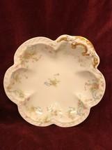 Handled Bon Bon Server Haviland Limoges Princess Pattern French, Vintage 8.5 In - $49.49