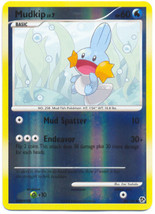 Mudkip 80/106 Reverse Holo Common Great Encounters Pokemon Card - $1.49