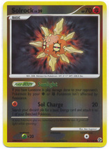 Solrock 85/106 Reverse Holo Common Great Encounters Pokemon Card - $1.49