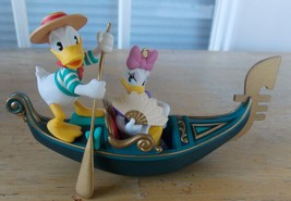 1998 Disney/Hallmark Donald & Daisy in Venice Ornament - $24.00