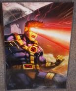 X-Men Cyclops Glossy Art Print 11 x 17 In Hard Plastic Sleeve - $24.99