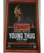 Young Thug The Foundry Nightclub SLS Las Vegas Hotel Las Vegas 11 x 17 P... - $5.95