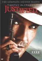 Justified: The Complete Second Season (DVD, 2011, 3-Disc Set) - €10,57 EUR