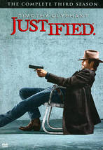Justified: The Complete Third Season (DVD, 2012, 3-Disc Set) - €10,61 EUR