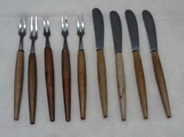 Vintage MID CENTURY Party forks, hors d'oeuvres, appetizer, olive forks ... - $10.50