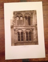 French Print Photograph Hotels & Maison's De La Renaissance Franchise Or... - $33.61