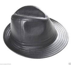 Herren 100% Echtes Schaf Leder Gentleman Hüte / Spitzenhut / Bucket Hüte - ₨1,561.05 INR