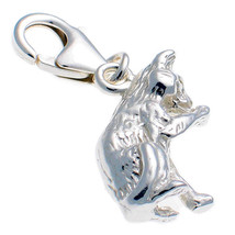 Sterling 925 Silver Welded Bliss British Charm Cat Licking Paw Clip On fit - €15,50 EUR