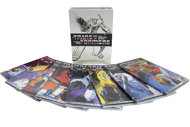 Transformers The Complete Series DVD Box Set 15 Disc Free Shipping Brand New