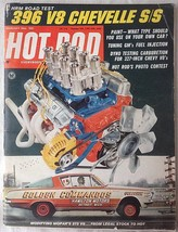 Vintage February 1966 Hot Rod Magazine 396 V8 Chevelle S/S Tuning GM Injection