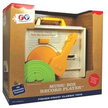 NEW FISHER PRICE RECORD PLAYER TURNTABLE FISHER-PRICE CLASSSIC TOY RETRO  - $34.99