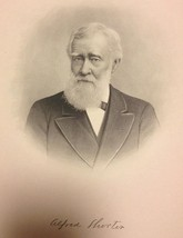 Georgia Alfred Shorter 1910 Original Engraving founder of Shorter College