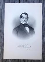 Georgia Thomas Barrett 1910 Original Engraving Print Merchant