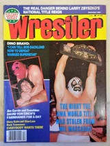 December 1983 The Wrestler Magazine The Night the AWA World Title was Stolen
