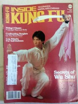 Oct 1981 Inside Kung-Fu Magazine Secrets of Wu Shu Hsing-I Chuan Hsing-I Chuan