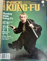 April 1982 Inside Kung-Fu Magazine Monkey Style Taoism Hsing-I Chuan Wing Chun