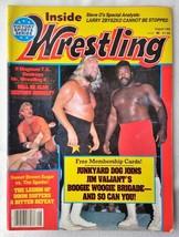 August 1984 Inside Wrestling Magazine Junkyard Dog Boogie Woogie Brigade Magnum