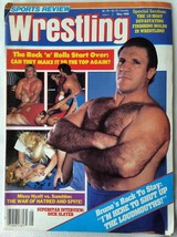 May 1986 Wrestling Magazine Bruno Dick Slater Missy Hyatt Sunshine Rock n Roll