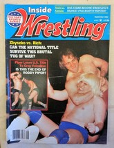 September 1983 Inside Wrestling Magazine Roddy Piper Zbyszko Greg Valentine