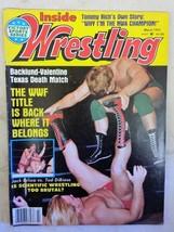 March '82 Inside Wrestling Magazine Jack Brisco - Ted DiBiase Scientific Wrestli