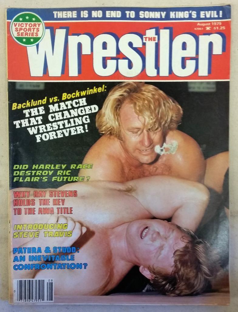 August 1979 The Wrestleer Magazine Backlund vs Bockwinkel Harley Race Ric Flair