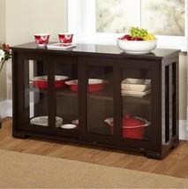 Modern Kitchen Cabinets Storage For The Base Espresso Buffet China Stora... - $128.69