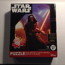 New Star Wars Force Awakens Kylo Ren Puzzle 100 Piece Disney Cardinal Gift  - $6.79