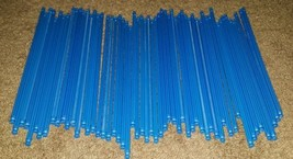 Mini K'nex Blue 5 1/2 inches Lot of 57 Pieces - $8.37