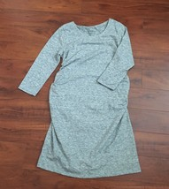 XXL EXTRA EXTRA LARGE Heather Gray Liz Lange Maternity Tee Shirt Dress NEW - $9.74