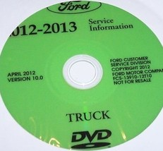 2012 FORD ESCAPE Service Shop Repair Information Workshop Manual ON CD NEW - $277.15