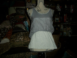 BOY MEETS GIRL Sweet Heather Gray Top Size S NWT - $8.91
