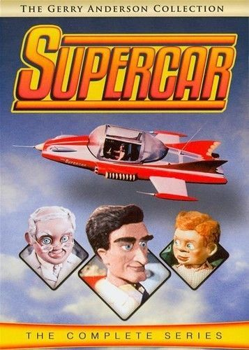 Supercar Complete Series New 5 DVD Box Set Seasons 1 2 Gerry Anderson Collection