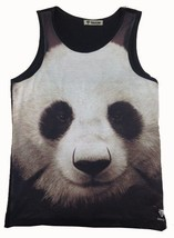 Panda Bear Sleeveless Tank Shirt Top One Size - $9.49