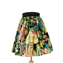 Hemet Alegria Pleated Mexican Art Senoritas ful... - $45.95