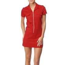 Dickies Girl Nurse Annie Dress Diner Red Zip down front short sleeve 50s... - €24,95 EUR