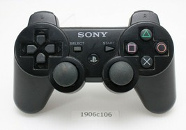 SONY PS3 Official Controller Black Wireless CECHZC2J Working 3 - $23.77