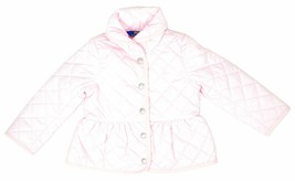 Polo Ralph Lauren Baby Girls Quilted Barn Jacket, Pink, Size 5, 9737-1 - $94.04
