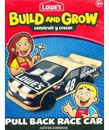 "Lowes ""Build And Grow"" Kid's Beginner Woodworking Project Jimmie Johnson... - $13.71"